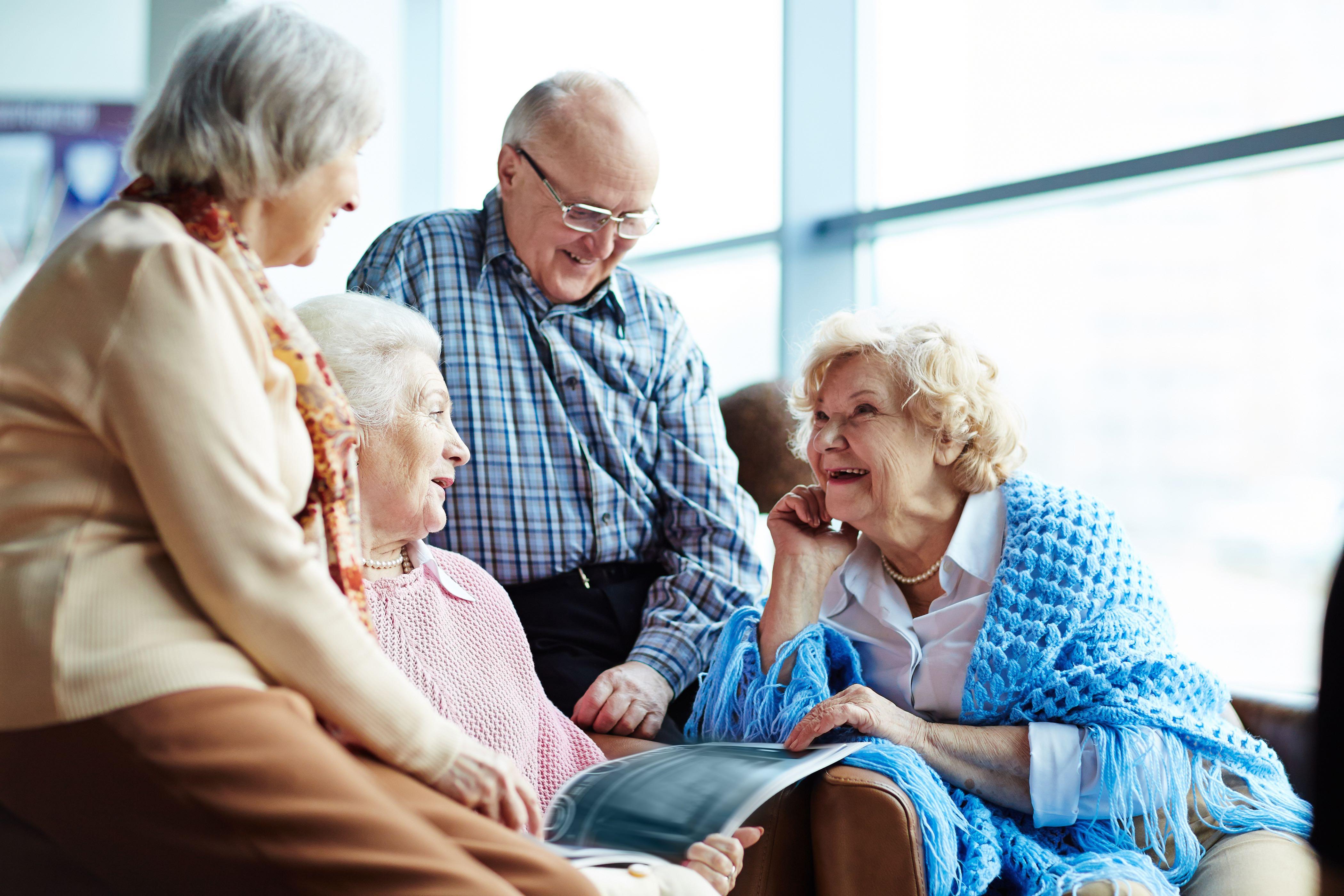 Дом ухода для пожилых людей